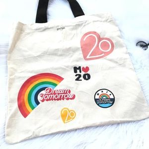 "Maje Paris ""Dream Tomorrow"" Rainbow Large Tote"
